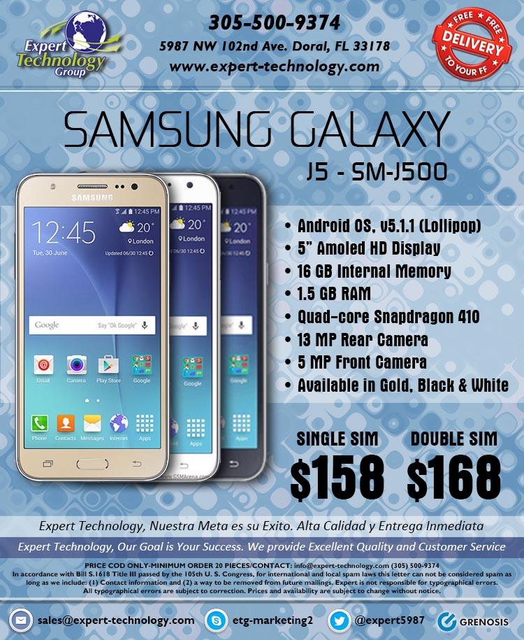 Samsung Galaxy J5 Sm J500 Expert Technology