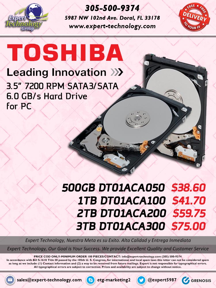 Toshiba Dt01aca100 Driver Windows 10 Download